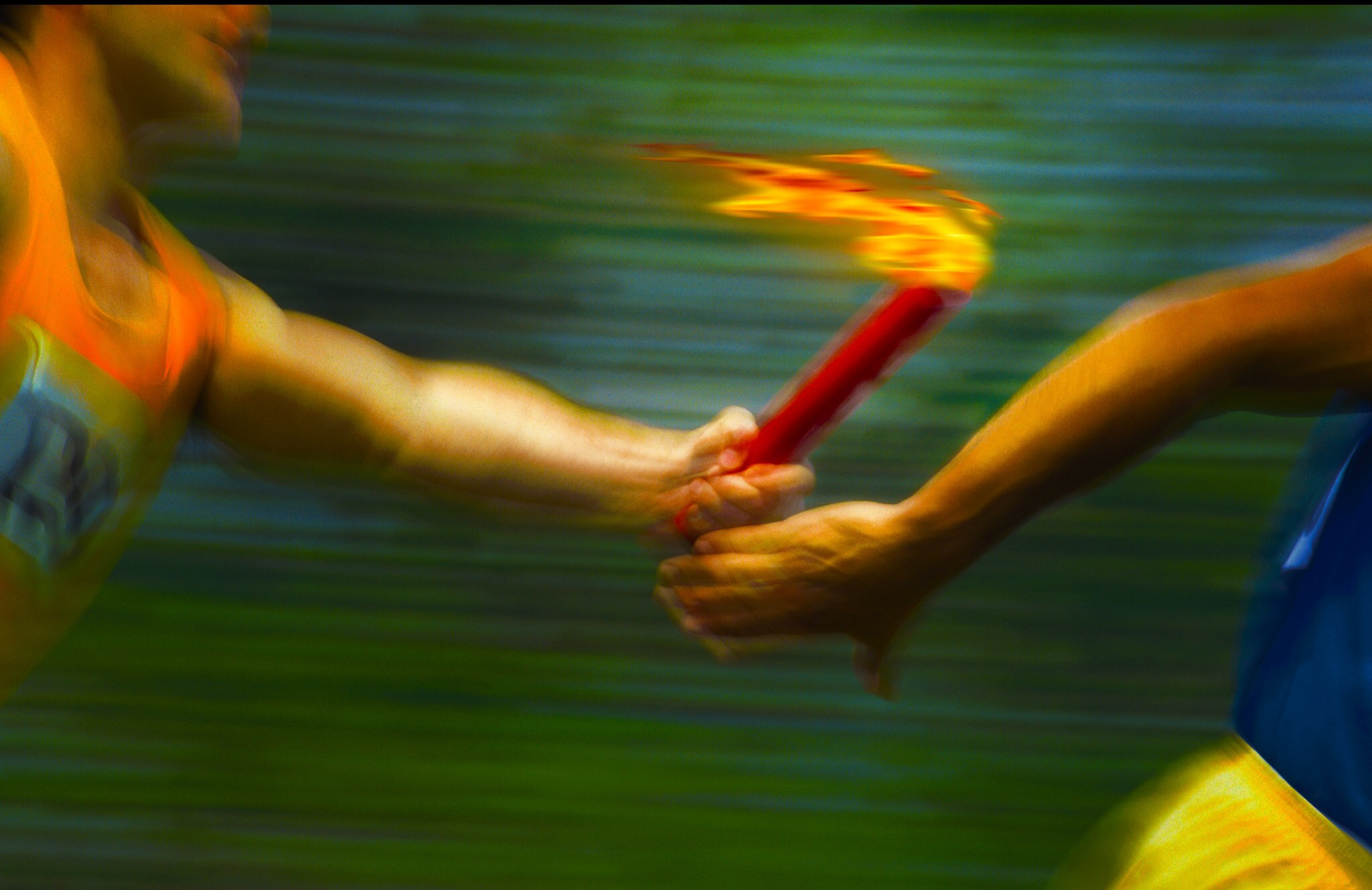 pass-the-torch - Lotus Happiness
